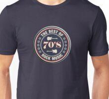 The Best Of  70's Rock Music Unisex T-Shirt