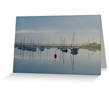 Swan Bay, Queenscliff Greeting Card