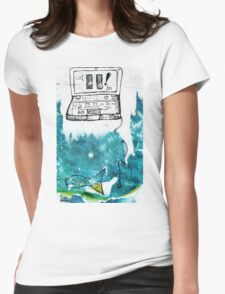 Emotion Ocean 4 Womens Fitted T-Shirt