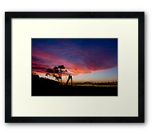 Passing time  Framed Print
