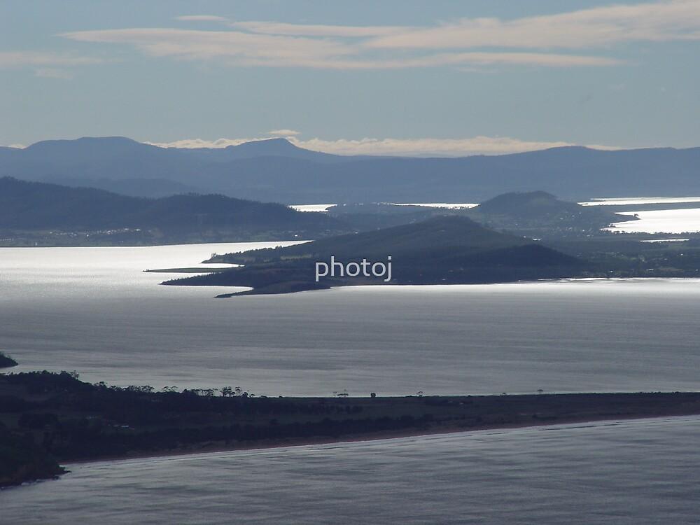 photoj Australia, Flying Over Tasmania by photoj