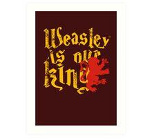 Weasley Art Print