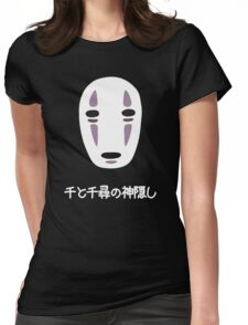 No Face (Spirited Away 千と千尋の神隠し) Womens Fitted T-Shirt