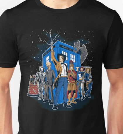 Masters Of The Whoniverse Unisex T-Shirt