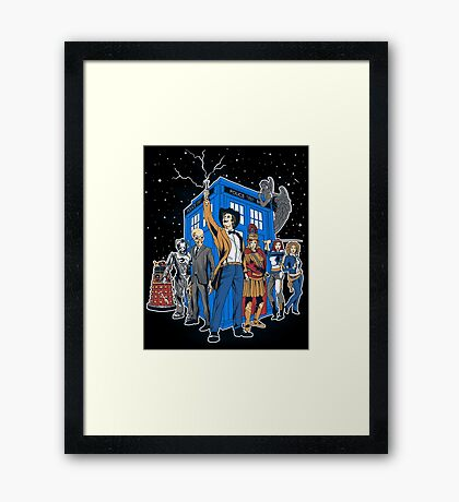 Masters Of The Whoniverse Framed Print