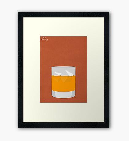 Cocktail - Whiskey Framed Print