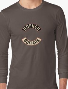 Hofner Guitars Long Sleeve T-Shirt