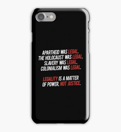 legal. iPhone Case/Skin