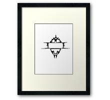 Alien Visor Framed Print