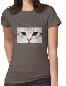 Kitty Womens Fitted T-Shirt