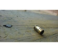Shell Casing Photographic Print
