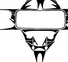 Alien Visor Sticker