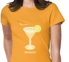 Make mine a Margarita Womens Fitted T-Shirt