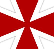 Maltese cross - Knights Templar - Holy Grail -  The Crusades Sticker