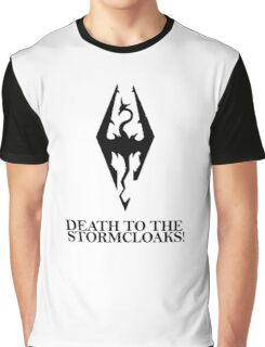 Skyrim - Death to the Stormcloaks! Graphic T-Shirt
