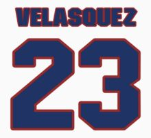 National baseball player Guillermo Velasquez jersey 23 by imsport