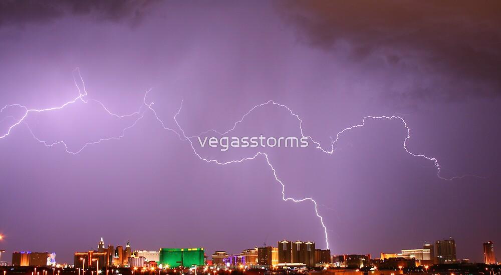 Natures Fury - Las Vegas by vegasstorms