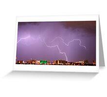 Natures Fury - Las Vegas Greeting Card