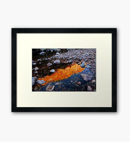Reflection, Emma Gorge Framed Print