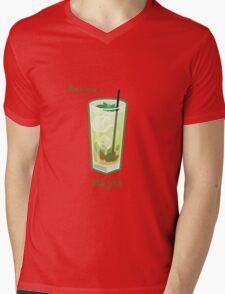 Make mine a Mojito Mens V-Neck T-Shirt