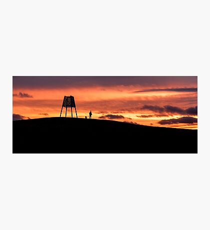 Point Ormond Sunset Photographic Print