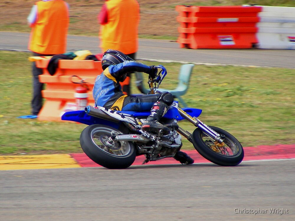 Supermoto Madness by Christopher Wright