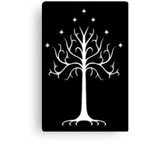 white tree of Gondor Canvas Print