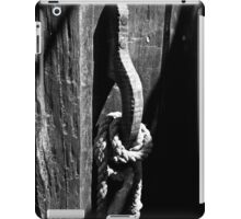 The Old Door Handle BW iPad Case/Skin