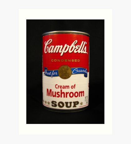 Campbell's Soup-A Tribute to Andy Warhol Art Print