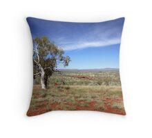 Pilbara Landscape Throw Pillow