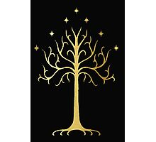 golden tree of Gondor Photographic Print