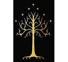 golden tree of Gondor Photographic Print
