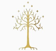 golden tree of Gondor Kids Clothes