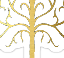 golden tree of Gondor Sticker
