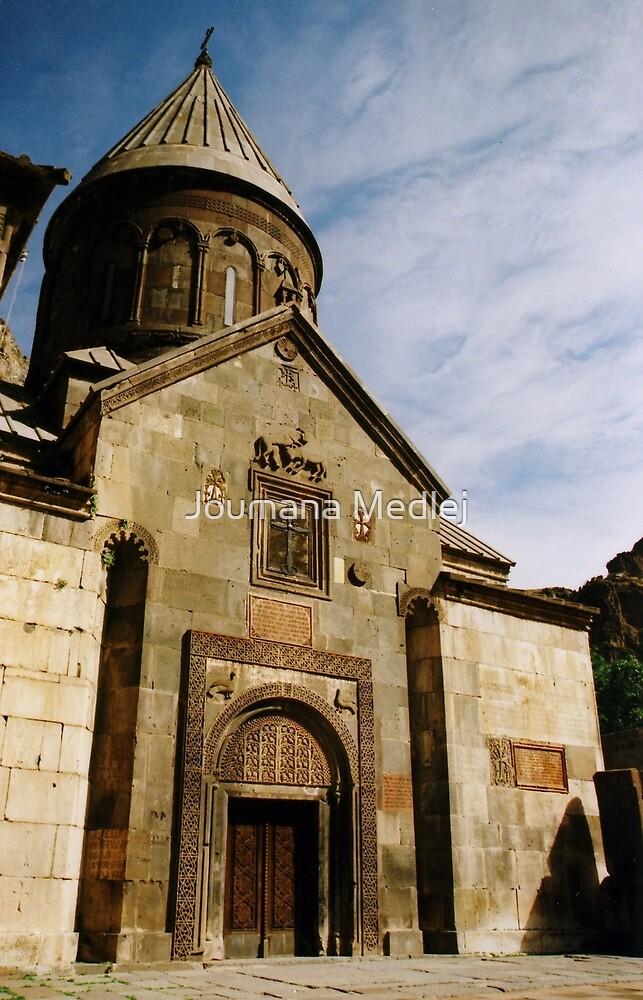 Geghard in Armenia by Joumana Medlej