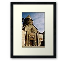 Geghard in Armenia Framed Print