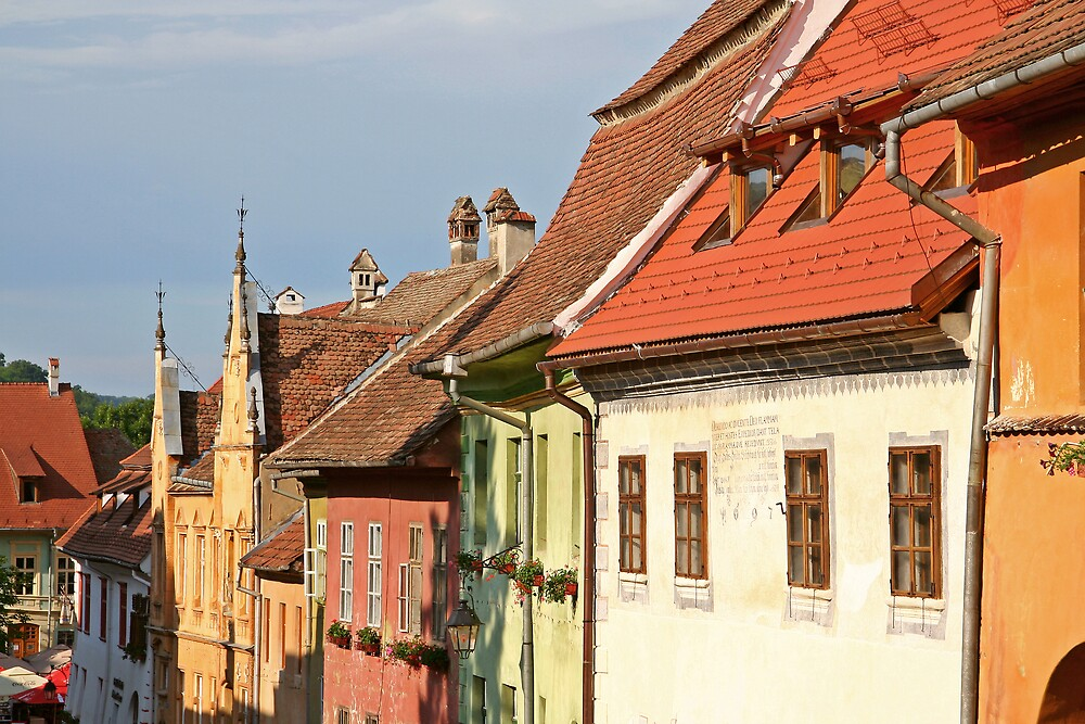 Sighisoara by GabiB