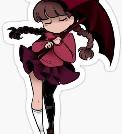 Yume Nikki - Umbrella Sticker