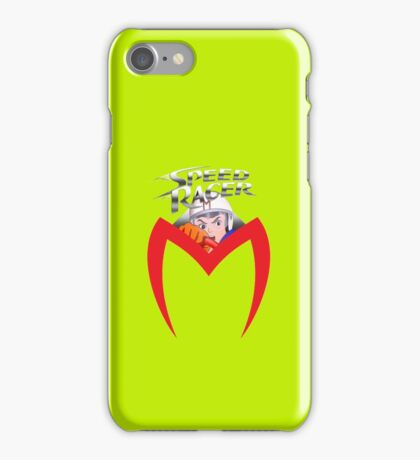speed racer m iPhone Case/Skin