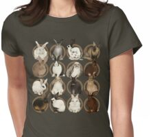Rabbit Breeds Womens Fitted T-Shirt