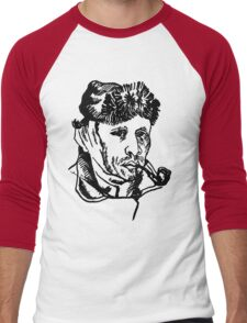Vincent van Gogh-2 Men's Baseball ¾ T-Shirt