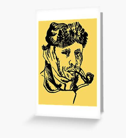 Vincent van Gogh-2 Greeting Card
