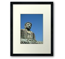 The Buddha of Kamakura Framed Print