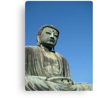 The Buddha of Kamakura Canvas Print