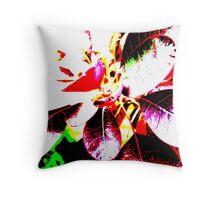 Abstract Gardens Throw Pillow
