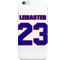 National baseball player Denny Lemaster jersey 23 iPhone Case/Skin
