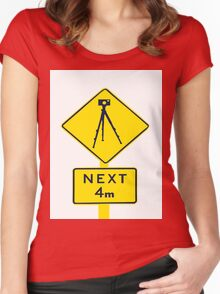 Tripod Ahead Women's Fitted Scoop T-Shirt
