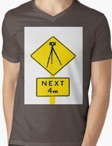 Tripod Ahead Mens V-Neck T-Shirt