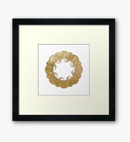 Rabita (Bond) Framed Print