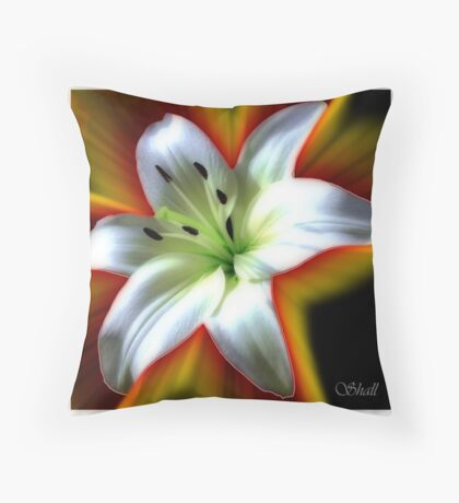 Wow Lilly Throw Pillow